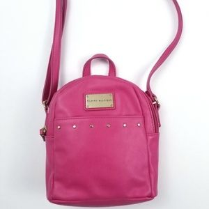 NEW Tommy Hilfiger Hot Pink Small Backpack Purse